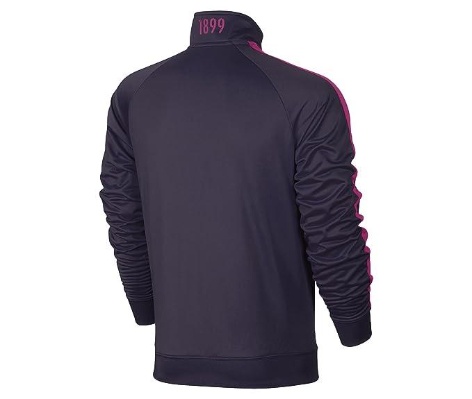 Nike FCB M NSW Jkt PK Cre Chaqueta FC Barcelona, Hombre ...