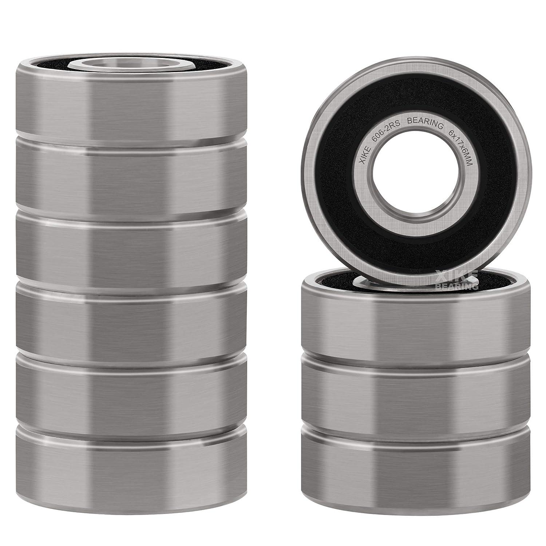 606ZZ  6*17*6  6x17x6mm Metal Shielded Ball Bearing Bearings 10 pcs