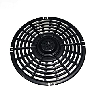 Air Fryer Replacement Grill Pan For Power Dash Chefman,Air Fryer Metal Round Replacement Parts With Handle Crisper Plate For Air Fryer