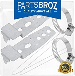 5001DD4001A Dishwasher Mounting Assembly Brackets Kit for LG Dishwashers by PartsBroz - Replaces Part Numbers AP4438292, 1266844, AH3525525, EA3525525 & PS3525525