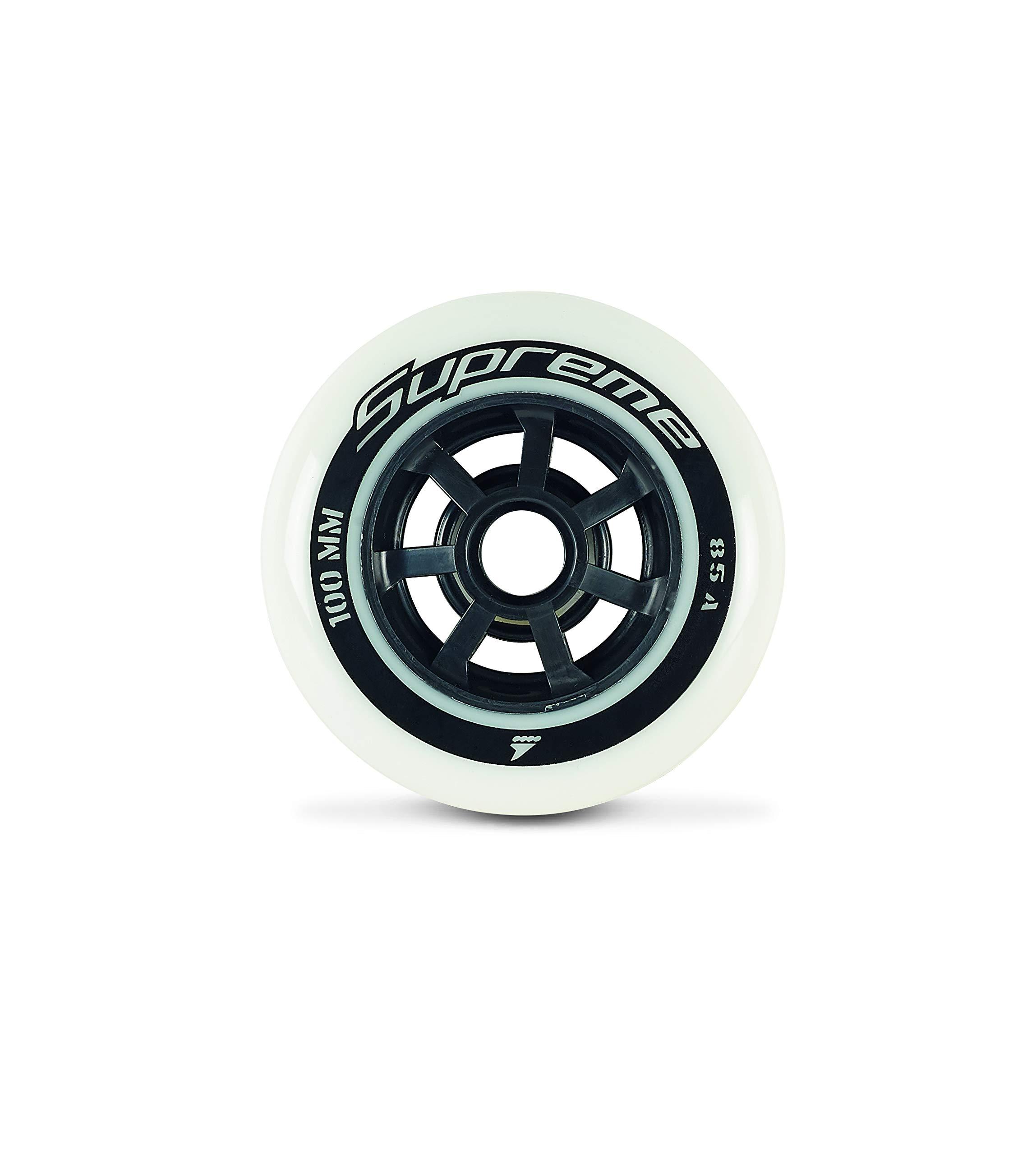 Ruedas de skate Rollerblade Supreme High Performance (paquete de 8)