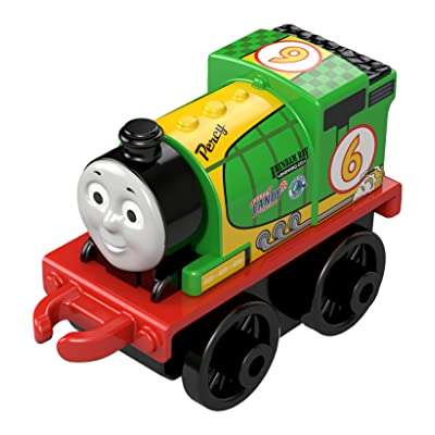 Thomas the Train Minis Single Pack - Racing Percy: Toys & Games