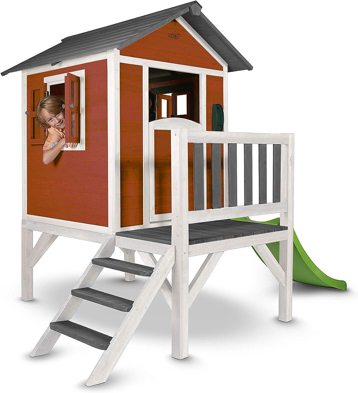 SUNNY juguete de Lodge XL FSC de madera juguete de con Slide (3colores)