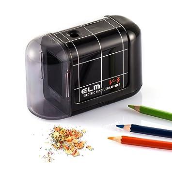 Neu Elektrischer Anspitzer Bleistift Spitzer Spitzmaschine Tool Für Schule Büro