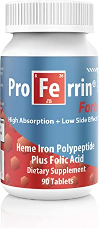 Proferrin FORTE Blue/Red Label, 90 Count (Pack of 1)