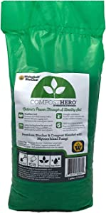 Wakefield Compost Hero Biochar Blend – 1 Gallon - Premium Compost with Mycorrhizal Fungi
