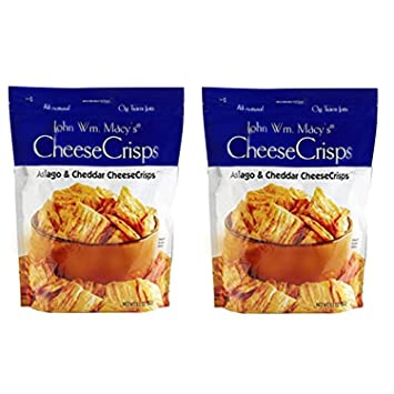 908572898e MACY S CHEESESTICKS - Natural Asiago and Cheddar Cheese Crisps – 11 Ounce