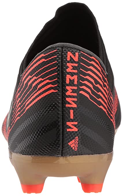 Amazon.com | adidas Performance Mens Nemeziz 17.3 FG Soccer Shoe, Core Black/Core Black/Solar Red, 10.5 M US | Soccer