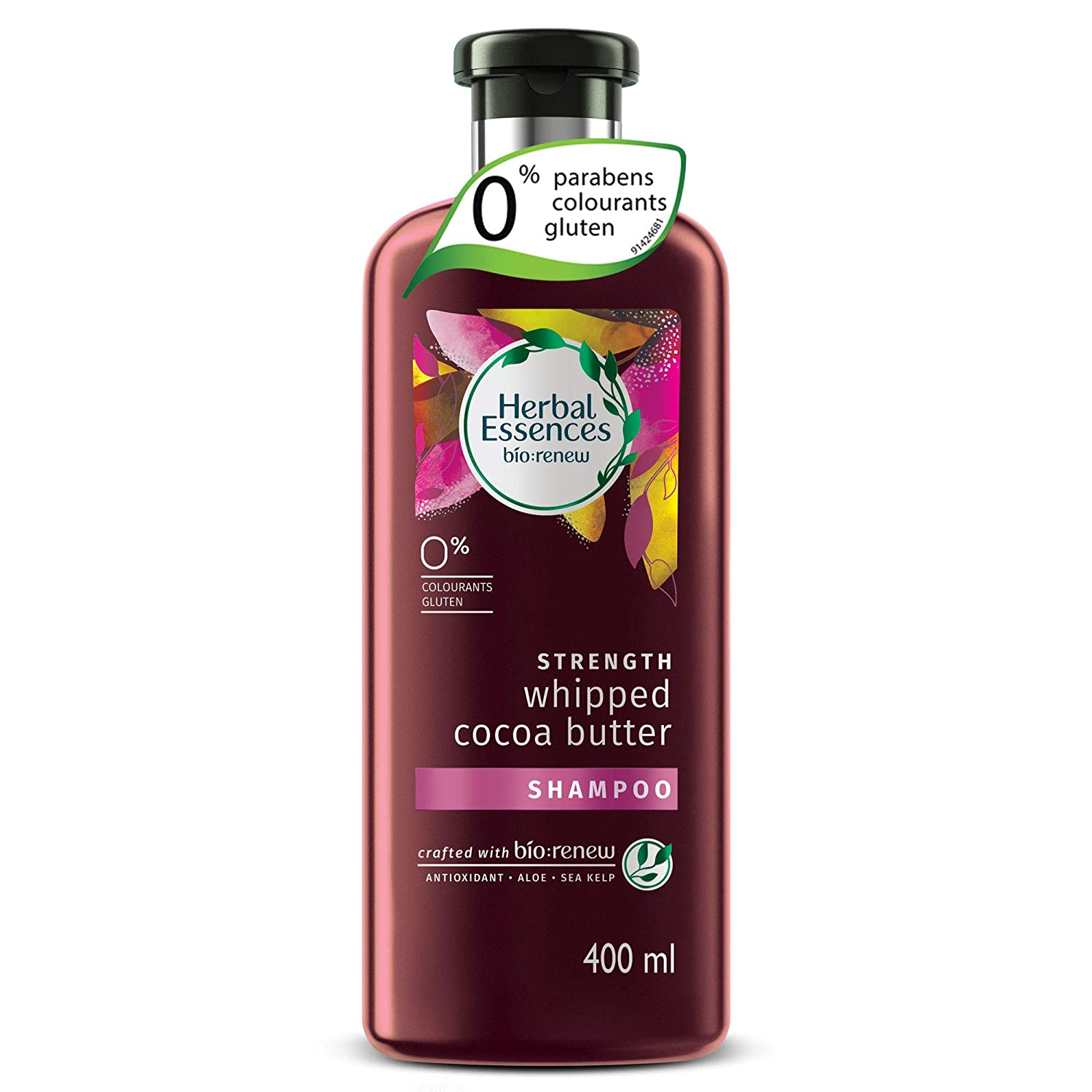 Herbal Essences bio:renew Whipped Cocoa Butter Shampoo, 400ml