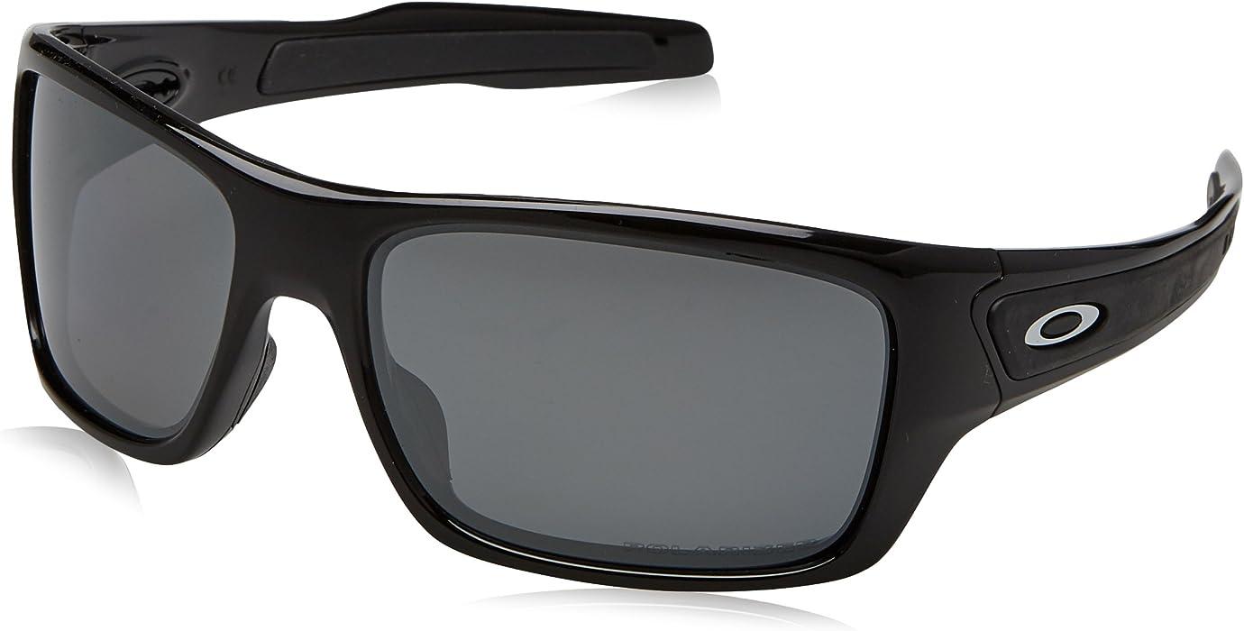 f22c13ad8f Men s Turbine Polarized Rectangular Sunglasses. Back. Double-tap to zoom