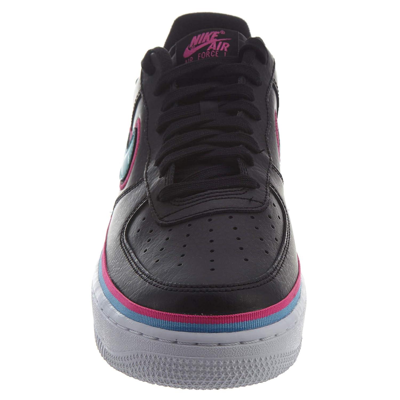 sale retailer ea5a4 9b4a6 Nike Men s Air Force 1 07 LV8 Sport, Black Blue Gale-Laser Fuchsia, 12.5 M  US  Amazon.com.au  Fashion