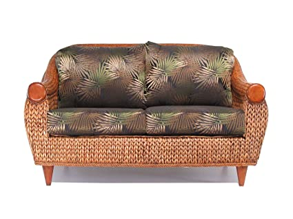 Amazon Com Used Sofas Couches Living Room Furniture >> Amazon Com Rattan And Hyacinth Living Room Furniture