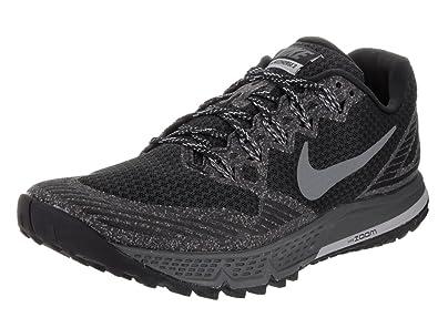 Nike Herren Air Zoom Wildhorse 3 Laufschuhe, Black (Black (Schwarz/ Dunkelgrau-