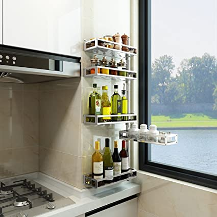 Bastidores de cocina de varios pisos, estantes de almacenamiento de ...