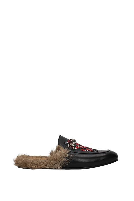 Zapatillas y Zuecos Gucci Hombre - Piel (429054DLC50) EU: Amazon.es: Zapatos y complementos