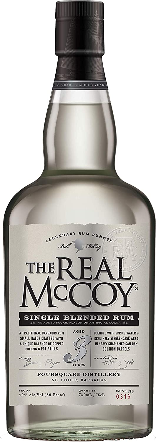 The Real Mccoy Ron Real Mccoy 3 Years Old 40º - 700 ml