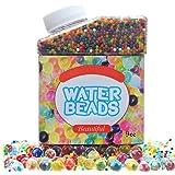 Simuer Wasser Perlen, Wassergel Wasser Kugeln Gel Bälle kristallwassergels (50000 Stücke) Water Beads Crystal Gel Jelly Spielzeug für Vasen Pflanzen Hochzeit und Heimtextilien 300ml/280g