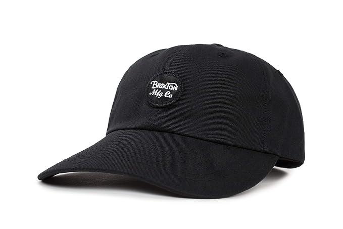 792f0112e5b Amazon.com  Brixton Men s Wheeler Low Profile Adjustable Hat