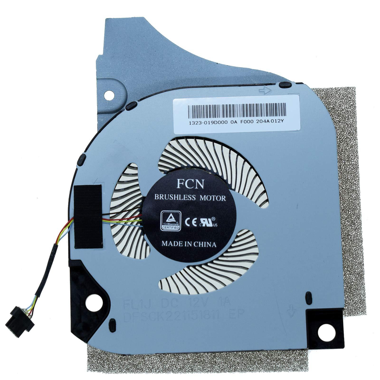 Cooler GPU para Dell G5 5590 Series Laptop DC12V 1.0A DF