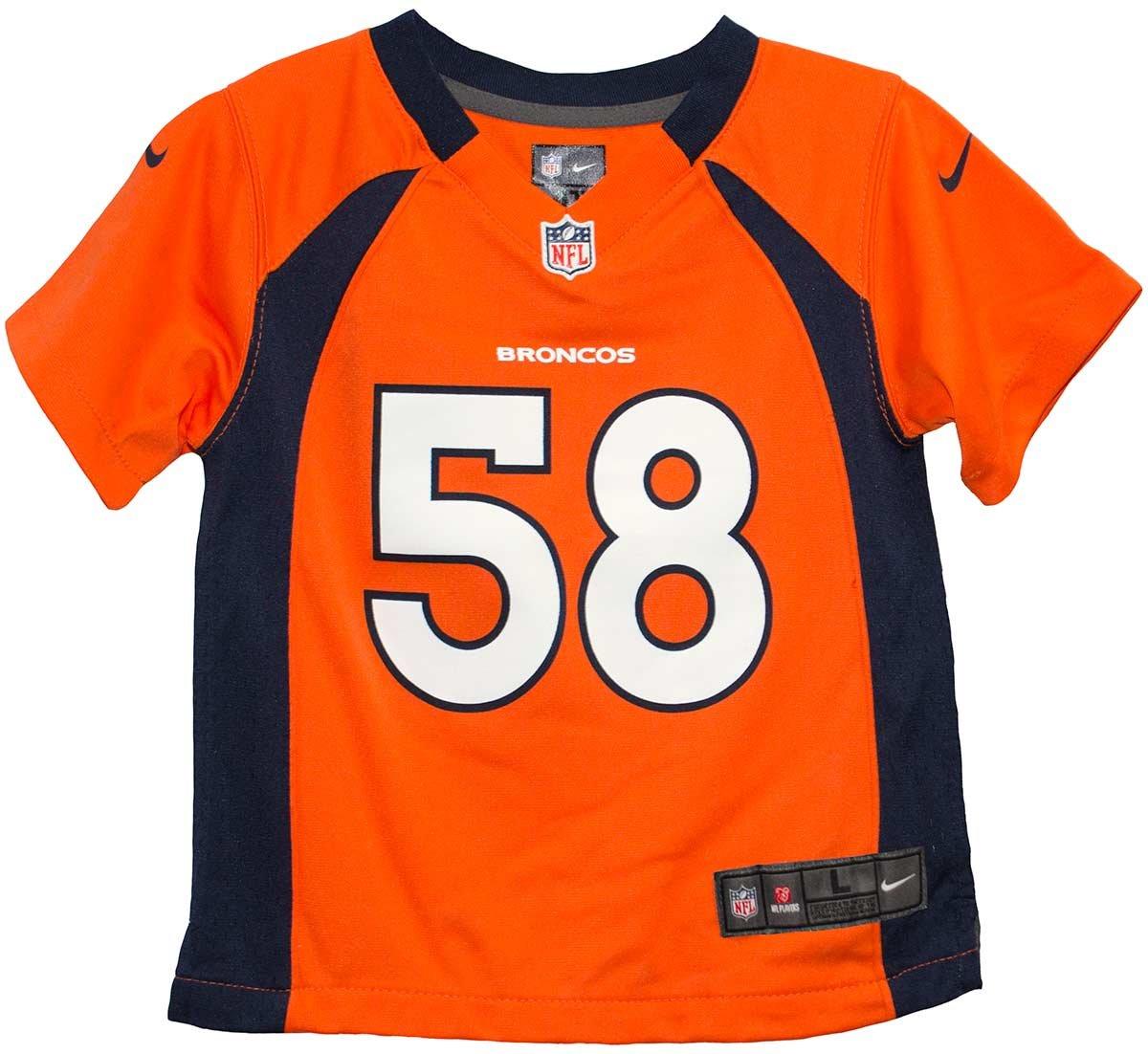 75d058068 Amazon.com   Von Miller Denver Broncos Pre School Nike Jersey (Large 7)    Sports Fan Jerseys   Sports   Outdoors