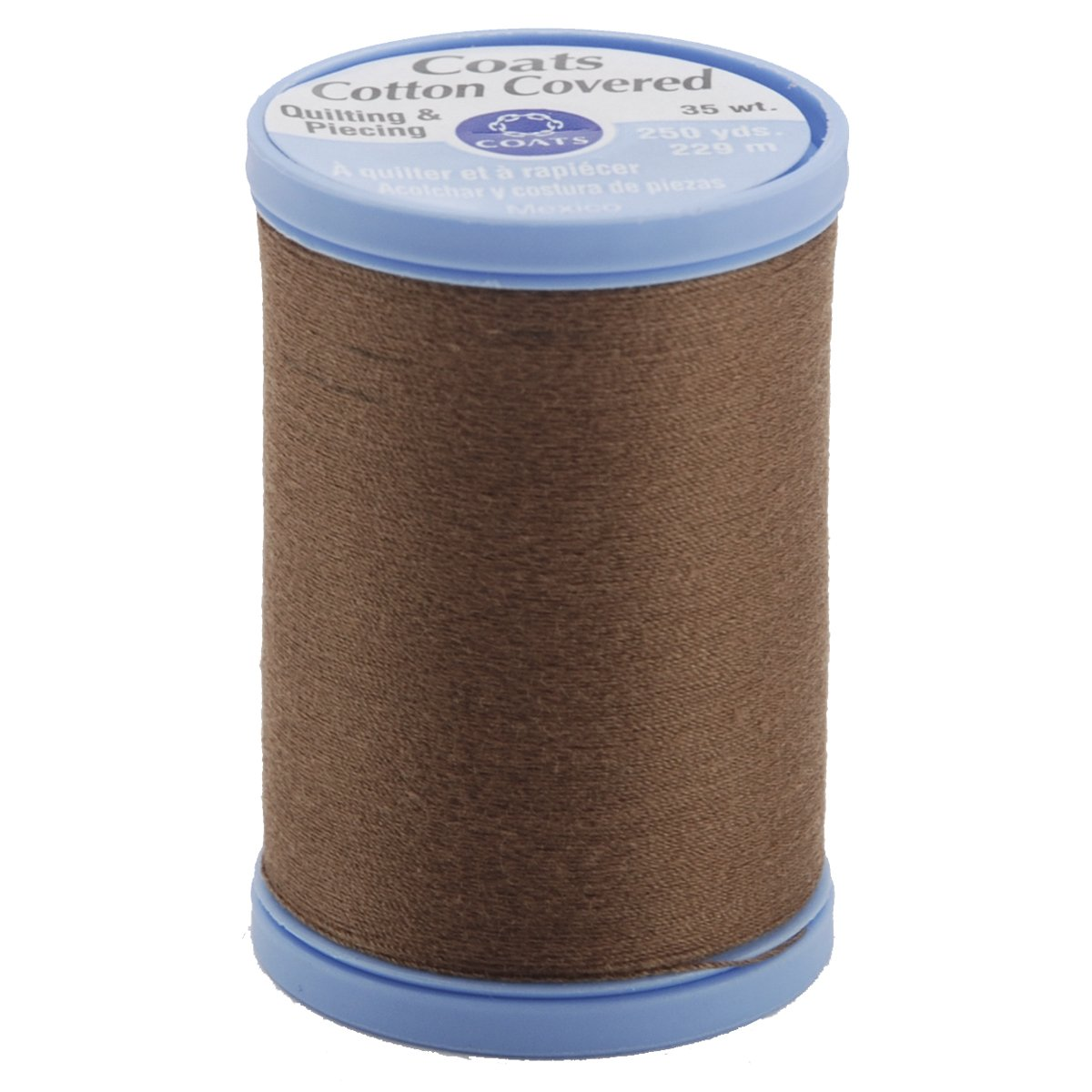 COATS & CLARK Cotton Covered Quilting and Piecing Thread, 250-Yard, Summer Brown S925-8360 027793