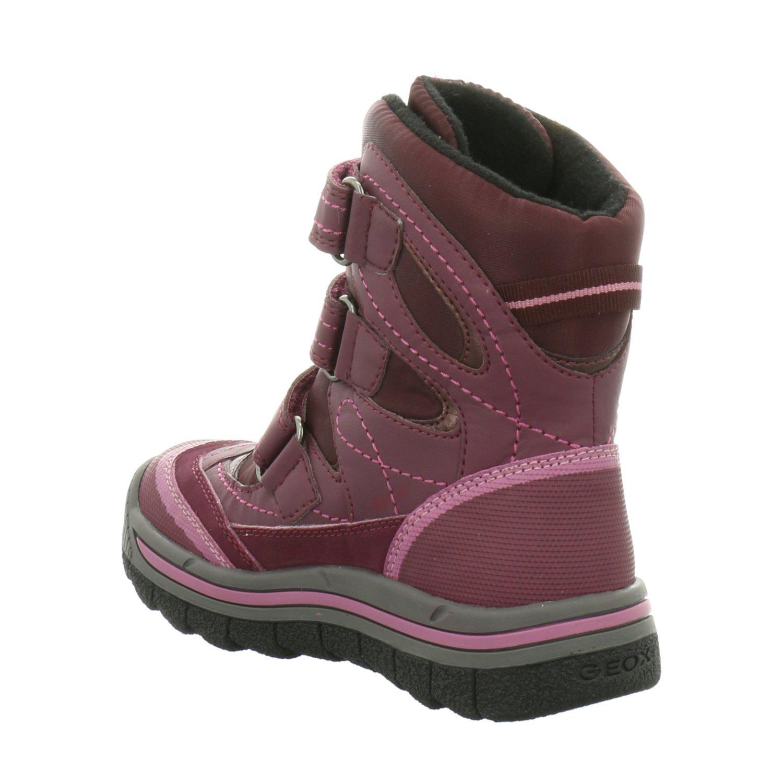 Geox J540FC0FU54, Stivali da Neve Bambina, Rosso (Rot), 30