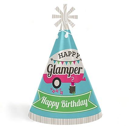 Amazon.com: Lets Go Glamping – Juego de 8 sombreros para ...