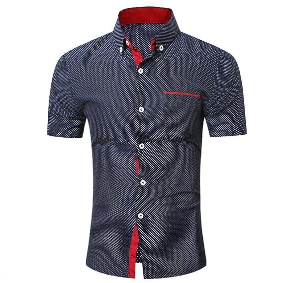 ... Camisa de Costura de Color de Manga Corta, Fina, con Costuras en Blanco y Negro ¡Blusa Superior, Liquidación Económica!: Amazon.es: Ropa y accesorios