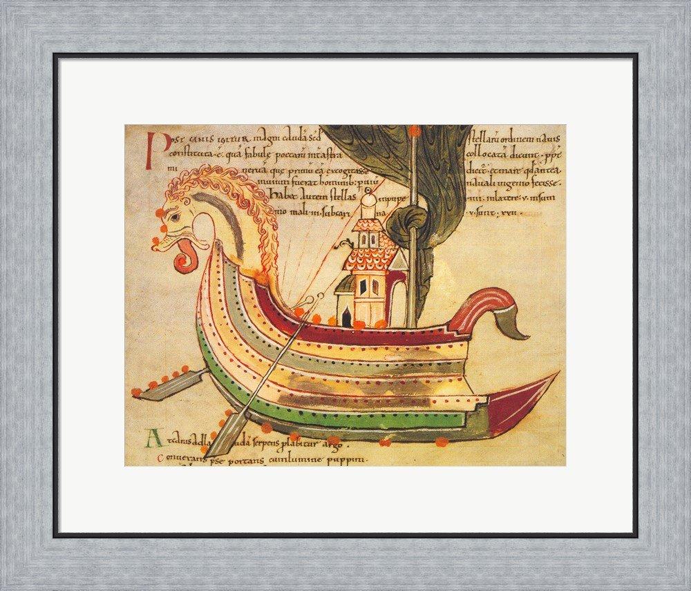 Amazon.com: Viking Dragon Ship Art Print, 10 x 8 inches: Posters ...