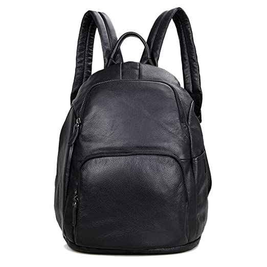 f2c1fda5f169 Image Unavailable. Image not available for. Color  Genda 2Archer Leather  Backpack School College Bookbag Laptop Computer Backpack