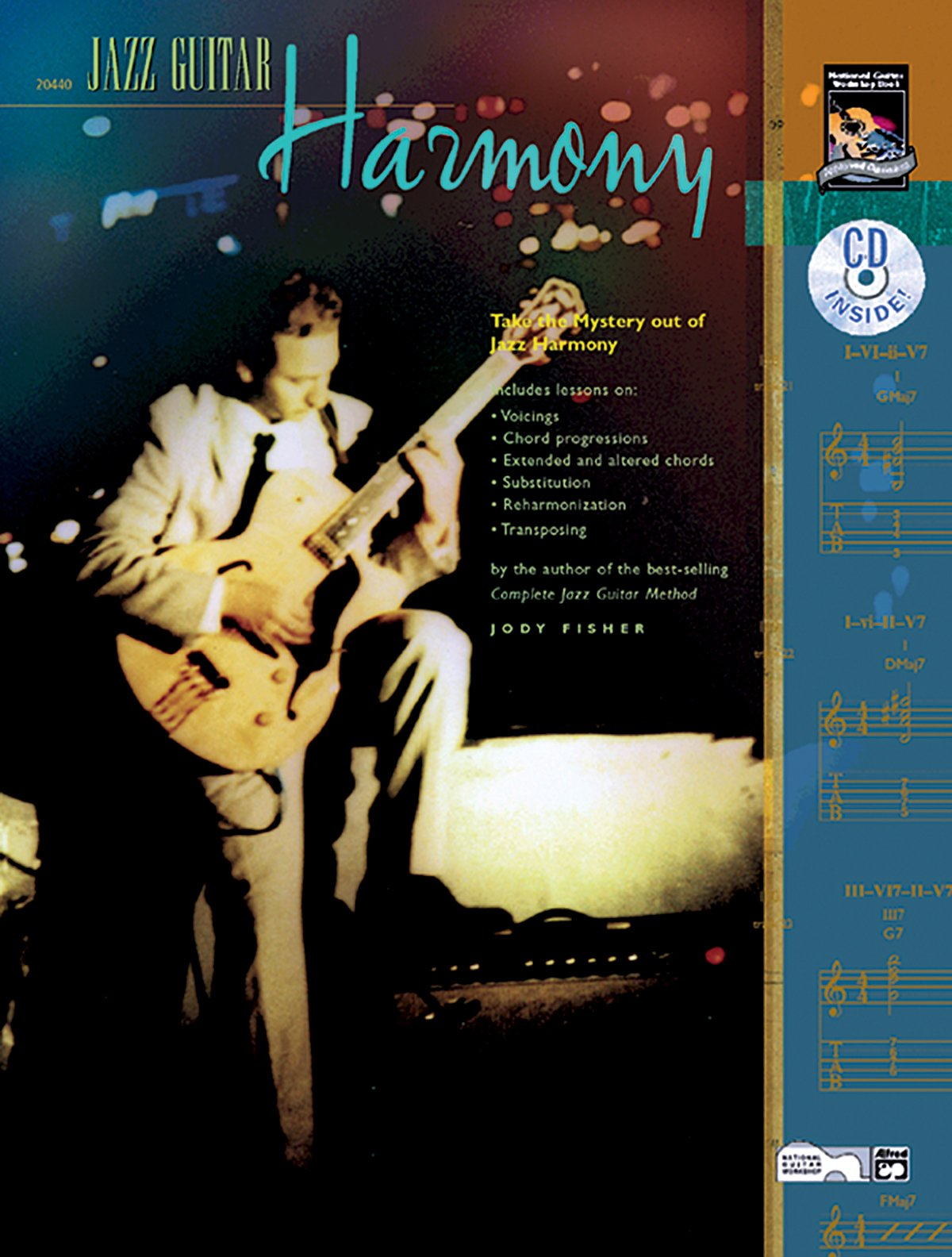 Jazz Guitar Harmony: Take the Mystery Out of Jazz Harmony, Book ...