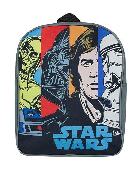 Amazon.com   Star Wars Panels Backpack   Kids  Backpacks 1ca5afa15f