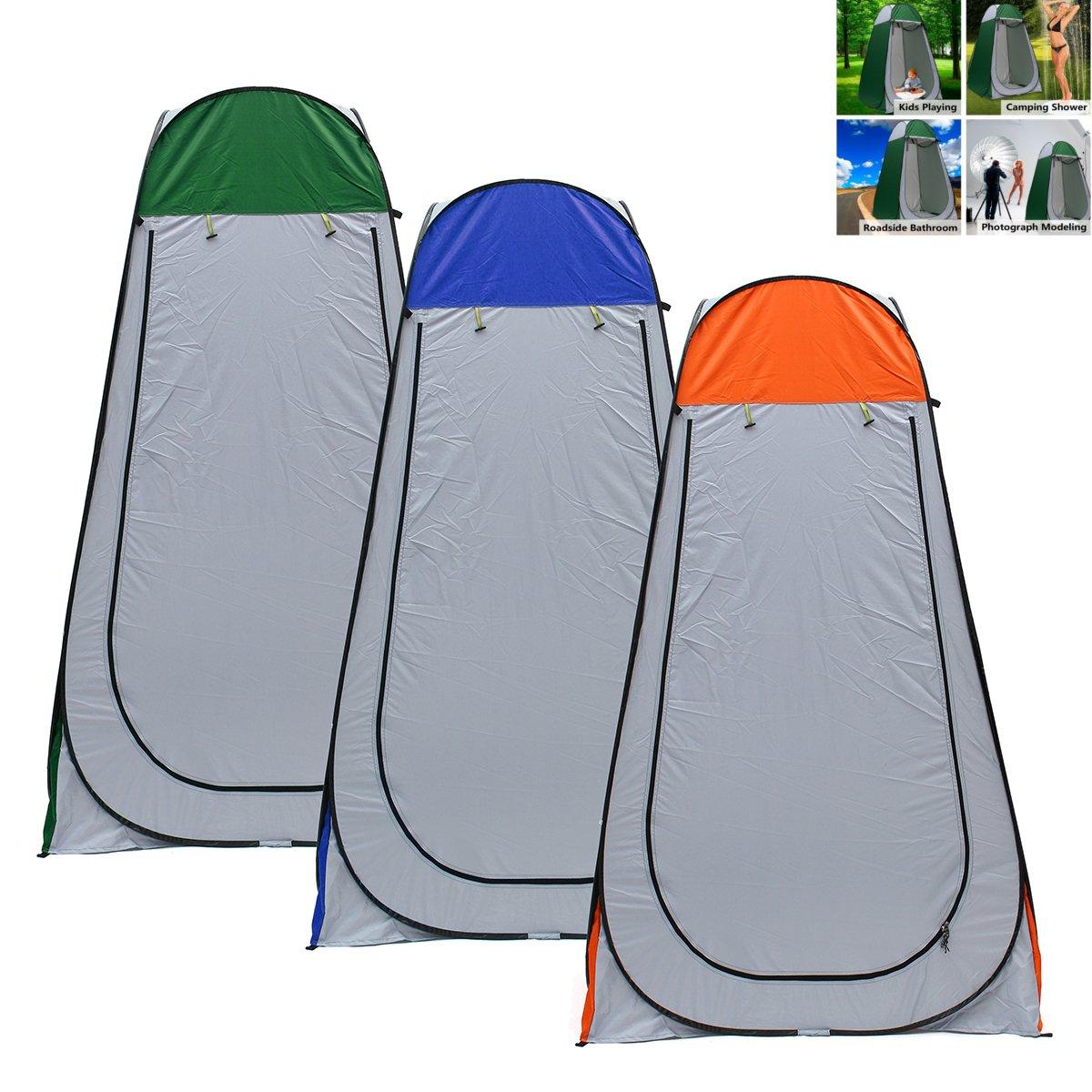 Plat Firm 1.2x1.2x1.9m Portable Pop-up Zelt Camping Reise WC Dusche im Freien Shelter