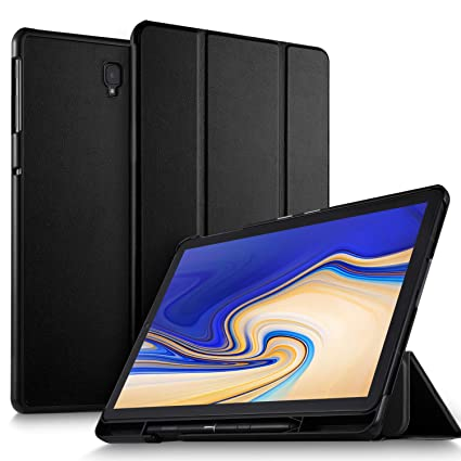 Luibor Samsung Galaxy Tab S4 10 5 SM-T830/SM-T835 Tablet Case - Ultra  Lightweight Slim Smart Folding Cover Case for Galaxy Tab S4 10 5  SM-T830/SM-T835