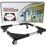 Chariot à roulettes base mobile multi-usage pour appareils électroménagers - Sèche-linge, cuisinières, réfrigérateurs et congélateurs