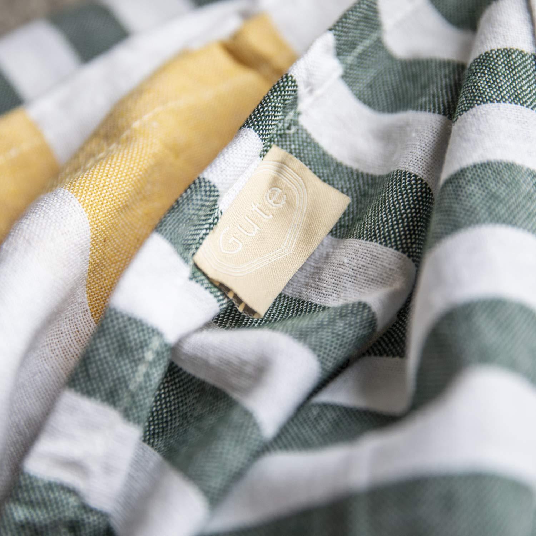 Gute (Set of 6) XXL Turkish Cotton Bath Beach Hammam Turkish Towel Sets Peshtemal Throw Fouta Blanket Set, Luxuries Towels by Gute (Image #6)
