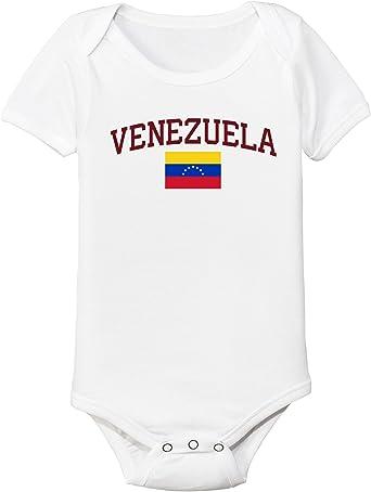 venezuela baby soccer bodysuit