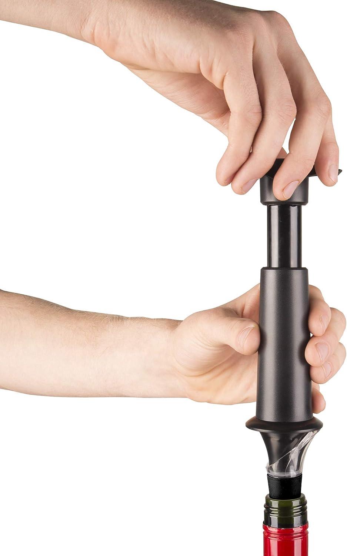 Neutre Anti Gouttes 5 x 8,3 x 22 cm Plastique Vacuvin 6804606 Pompe /à Vin