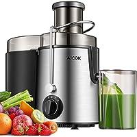Aicok Licuadoras Para Verduras y Frutas, 3 Velocidades Licuadora Prensado Frio Extractor de Zumo Boca Ancha de 65MM…