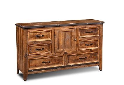 Amazon Com Sunset Trading Hh 4365 310 Rustic City Dresser Natural