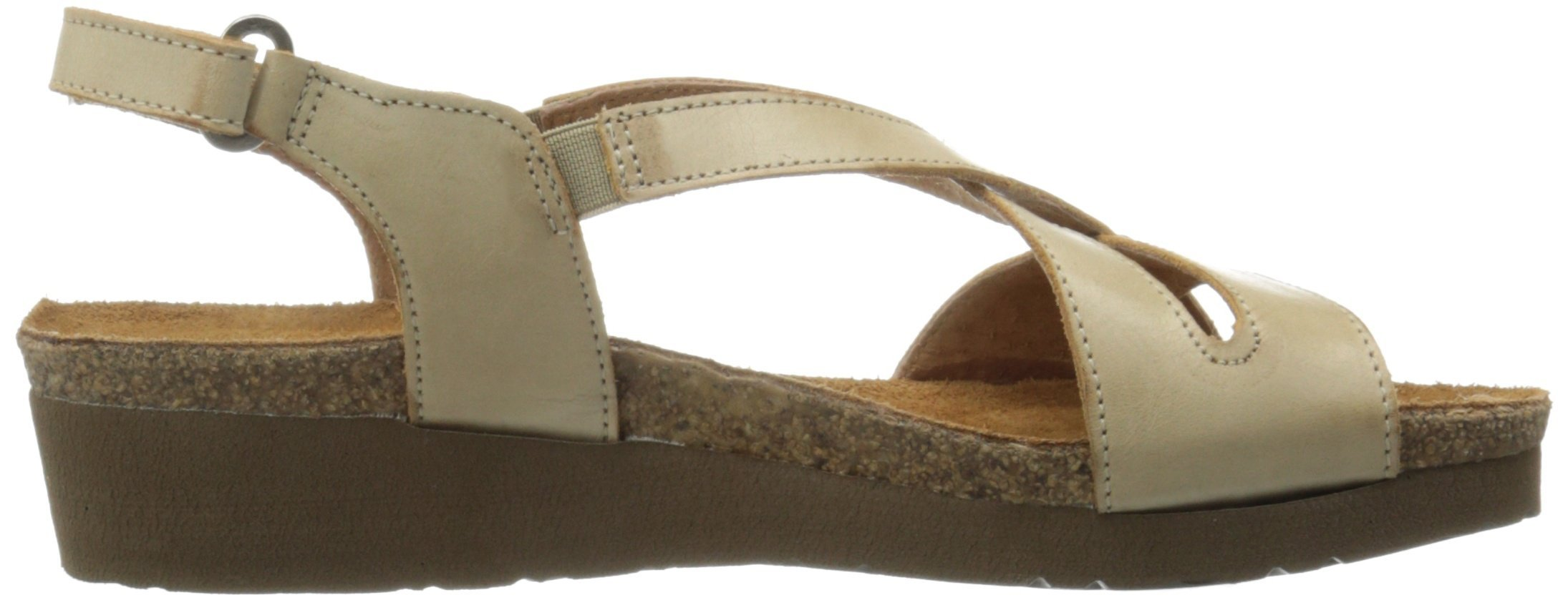 Naot Women's Bernice Wedge Sandal, Biscuit Leather, 35 EU/4.5-5 M US by NAOT (Image #7)