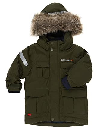 d40f581f8 Didriksons Nokosi Kids Waterproof, Breathable and Windproof Parka Coat