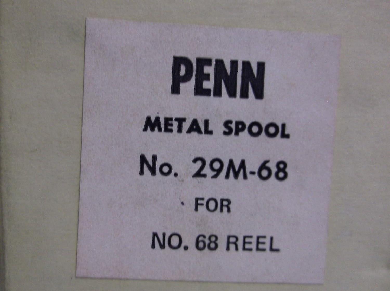 - - - - - - - Penn Conventionalリールパーツ – 29 m-68 Long Beach 68 268 – スプールアセンブリ   B01M8O7XQN