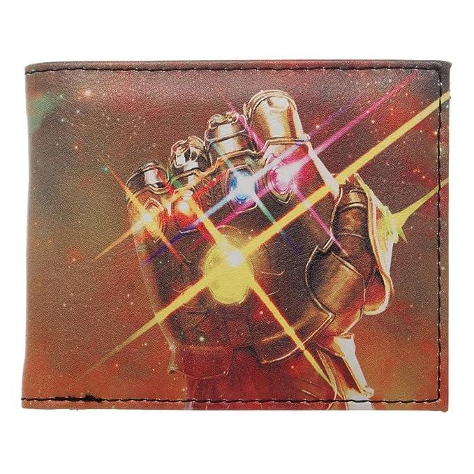 Amazon.com  Thanos Gauntlet with Infinity Stones Nylon Printed Bi ... 20d48aac155