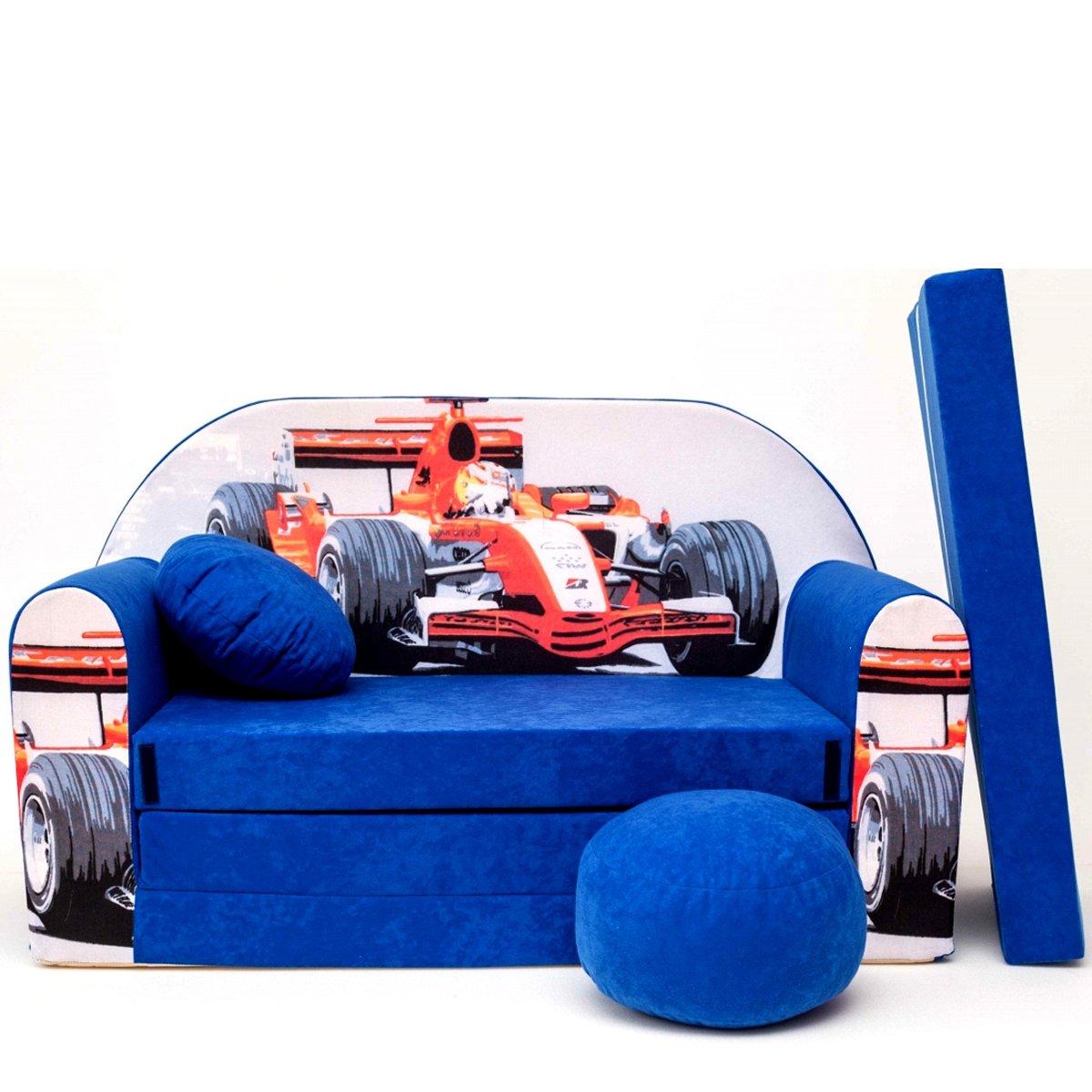 C2+ un divano per bambini Baby divano letto divano divano mini pouf cuscino 3in 1set schiuma Barabike SOF042