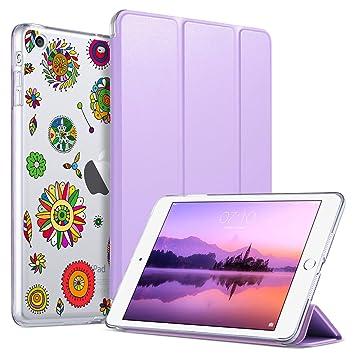 ULAK Funda para iPad Mini 1/2/3, iPad Mini Ultra Delgada con función de Encendido y Apagado automático magnético, Funda Inteligente con Carcasa ...