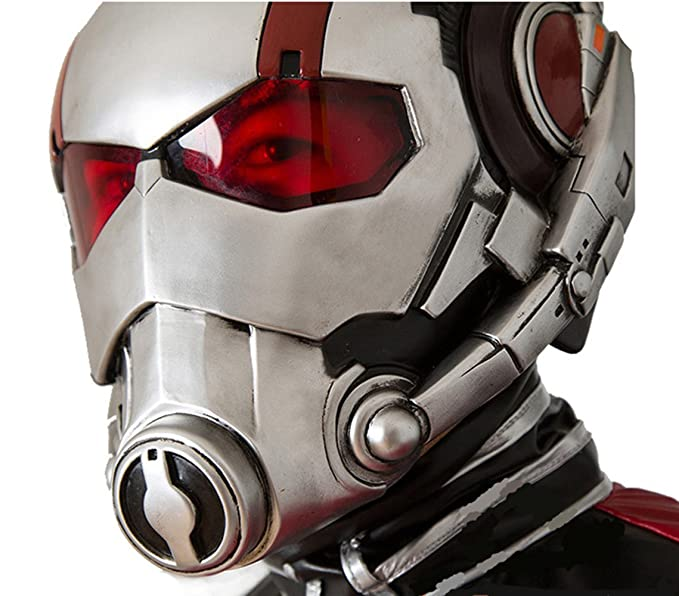 Costore ANT-Man Antman Halloween Fashion casco PVC máscara la protección de cristal Steel Helmet máscara Antman Coaplay: Amazon.es: Hogar