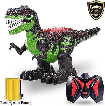 A Walking Talking Dinosaur Bright Color Kids/' Favorite Interactive Jurassic Toy
