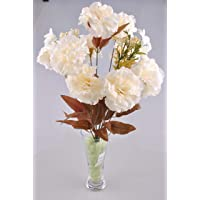 11 Dallı 50 cm Karanfil Yapay Çiçek