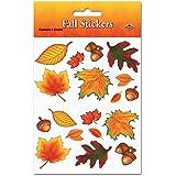 Fall Leaf Stickers   (4 Shs/Pkg)